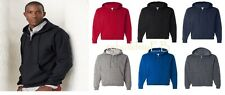 JERZEES - Quarter-Zip Hooded Pullover Jersey Sweater New S M L XL 2XL 3XL- 994MR