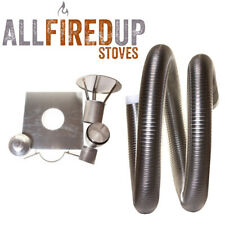 """Flexible Flue Liner Installation Kit 2 For Multifuel Wood Burning Stove 6"""" To 6"""""""