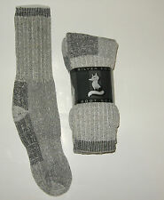 3 or 6 Pairs MENS Shoe 7- 11 68% Merino Wool Arch Support Outdoor Crew Socks