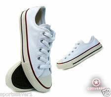 CONVERSE CHUCK TAYLOR ALL STAR OX YOUTH OPTICAL WHITE SIZE 11-2