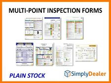 Multi-Point Inspection Forms Generic Manufacturer Specific Plain Stock Qty 250