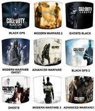 Call Of Duty Lampshades Ideal To match Children`s Bedroom Duvets & Curtains ETC.
