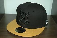 IN4MATION CROSS BONES BLACK NEW ERA FITTED HAT crooks farmers market aloha army