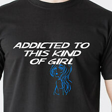 ADDICTED TO this kind of GIRL hot horny slut sex bad whore retro Funny T-Shirt