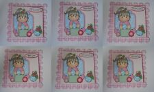 PACK 2 JODIE WITH BAUBLES TOPPERS FOR CARDS AND CARDS  2 THEMES