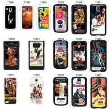 Movie Posters Cover Case for Samsung Galaxy S2 S3 S4 S5 Mini - T41