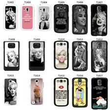 Marilyn Monroe Cover Case for Samsung Galaxy S2 S3 S4 S5 Mini - T42