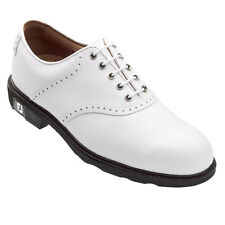 NEW Footjoy Men's Icon 52005 Golf Shoes -White Pebble Closeout!
