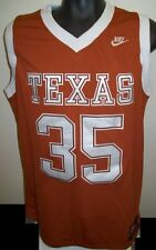 Texas LONGHORNS #35 Kevin DURANT Basketball Jersey Burn't Orange SMALL MED 2X 3X