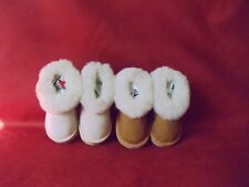 BABYS,TODDLERS AND CHILDRENS REAL SHEEPSKIN SLIPPER BOOTS