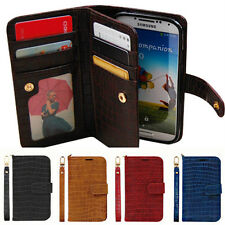 Samsung Galaxy Note2 GT-N7100 Gavialis Two-Side wallet Phone case With Strap