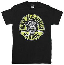 Official Licensed Gas Monkey Garage Logo Gold Tooth Vintage Style Men's T-Shirt