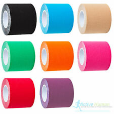 2 Rolls of More Mile Kinesiology Tape Sports Injury Muscle Strain Physio Support