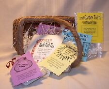 Bath Sachets~herb blend~soothing spa treatment~lavender~Backyard Patch~natural