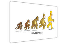 EVOLUTION OF THE SIMPSONS KIDS CANVAS WALL ART PRINTS DECORATION POSTER PICTURES