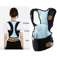 DISK WIN PREMIUM Posture Corrector Lumbar support Belt Round Shoulder Back Brace