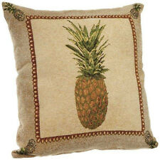 Decorative square throw pillows durable chenille tapestry-like couch sofa soft
