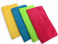 "48 Microfiber 14""x14"" Cleaning Cloths Detailing Polishing Towels Rags 300GSM"