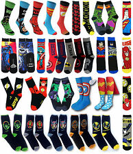 BATMAN SUPERMAN INCREDIBLE HULK CAPTAIN AMERICA SPIDER MAN FLASH DEADPOOL Socks