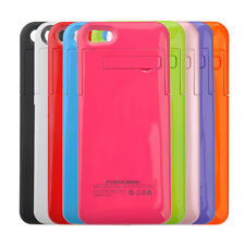 Portable External Stand Backup Battery Charger Case Cover fr Apple iPhone 5 ONLY
