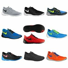 NEW MENS NIKE FREE 5.0 RUNNING SHOES  *LATEST COLOURS* - ALL SIZES