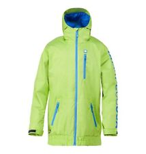 DC SHOES RIPLEY JACKET LIME GREEN FW 2015 GIACCA SNOWBOARD S M L XL NEW