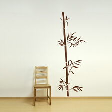CHINESE BAMBOO BRANCH TREE WALL ART DECAL STICKER kids vinyl stencil new CH15