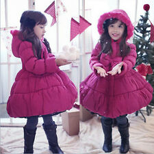 NEW Kids Baby Jacket Christmas Gift Thicken Winter Warm Girl Cotton Coat Outwear