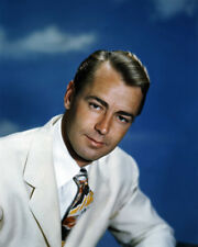 ALAN LADD HANDSOME STUDIO PORTRAIT RICH COLOR PHOTO OR POSTER