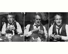 THE STING PAUL NEWMAN CLASSIC MONTAGE PLAYING POKER PHOTO OR POSTER