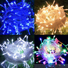Fully Waterproof Christmas LED String Fairy Lights 100 200 300 Outdoor Indoor