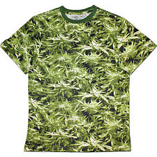 Canouflage Hemp Field T-Shirt - Unisex Camouflage Camo Cannabis Weed Mens Womens