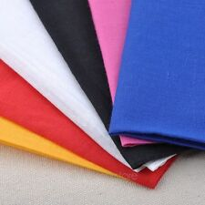 "22"" x 22"" Solid Colors Plain Bandana Head Wear Headband Fashionable Cotton Scarf"