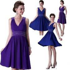 Sexy Party Evening Homecoming Wedding Bridesmaid Prom Ball Short Dresses Formal