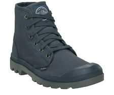 Men Palladium Pampa Hi Leather Ankle Casual Boot Lace-Up Blue 02352-416