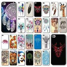 Case Cover Paint Cartoon Animals Pattern Hard Back Skin For iPhone 4 4S 5 5S 5C
