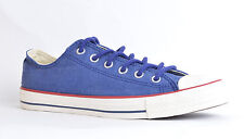 Converse 144369C Low Top Trainers in Victorian Blue - Unisex Sizes 3-12