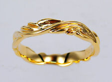GENUINE 9ct 9K Solid Gold RING BAND STAMPED ENGAGEMENT WEDDING ART RING