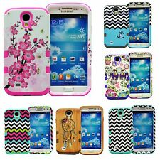 Heavy Duty Hybrid Hard Impact Case Cover For LG Optimus L70 D325 MS323 Exceed 2