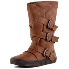 Blowfish Olin Womens Synthetic Whiskey Boots New Shoes All Sizes