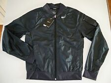 New with Tag Nike Men's SPHERE  Bomber Jacket DARK GREY/ BLACK 519736-060