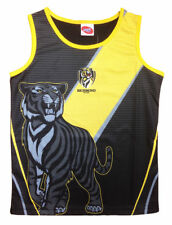 Richmond Tigers AFL Footy Training Singlet Tank Top - Boys Youth Mens