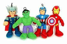 SET of Marvel Avengers Assemble Iron Man, Captain America, Thor or Hulk Licensed
