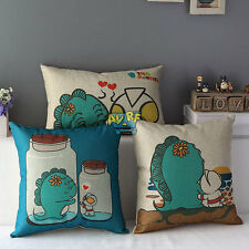 Cartoon Printing Throw Home Decorative Cotton Linen Pillow Case Cushion Cover