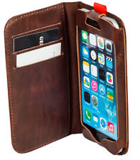 For Iphone 6 Antique Leather Retro Old Classic Vintage Book Case Cover Wallet