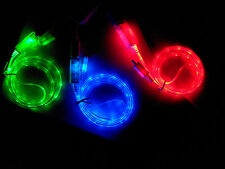 LED Light Micro USB Charge Data  Cable for Samsung Galaxy S4/3/2 HTC LG Bright X