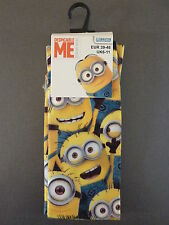 NEU Primark Minion Made Foto Socken Despicable Me Minions 39 bis 46