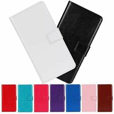 Magnetic Closure Flip PU Leather Two Card Slot Wallet Stand Cover Case For LG G2