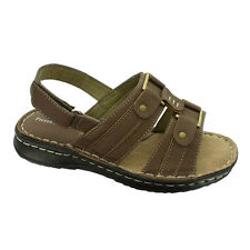 Women's Sandal Ankle Strap Taupe Nubuck Pierre Dumas Pure Comfort For Your Feet