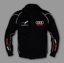 New AUDI Quattro Sport Men Awesome Jacket Embroidery rs quattro EU MADE XS - 7XL